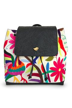 Cuca y Paloma Tenango Colorful Backpack - Product List Image