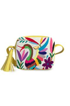 Shoptiques Product: Tenango Yellow Cross Body Bag