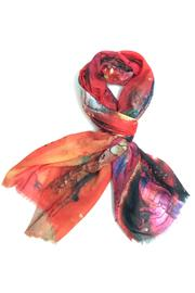 Cuccia Italia Abstract Art Scarf - Front cropped