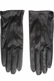 Cuccia Italia Black Leather Gloves - Product Mini Image