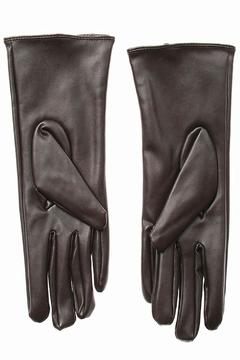 Shoptiques Product: Brown Leather Gloves