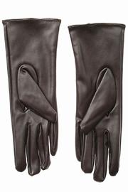 Cuccia Italia Brown Leather Gloves - Front full body