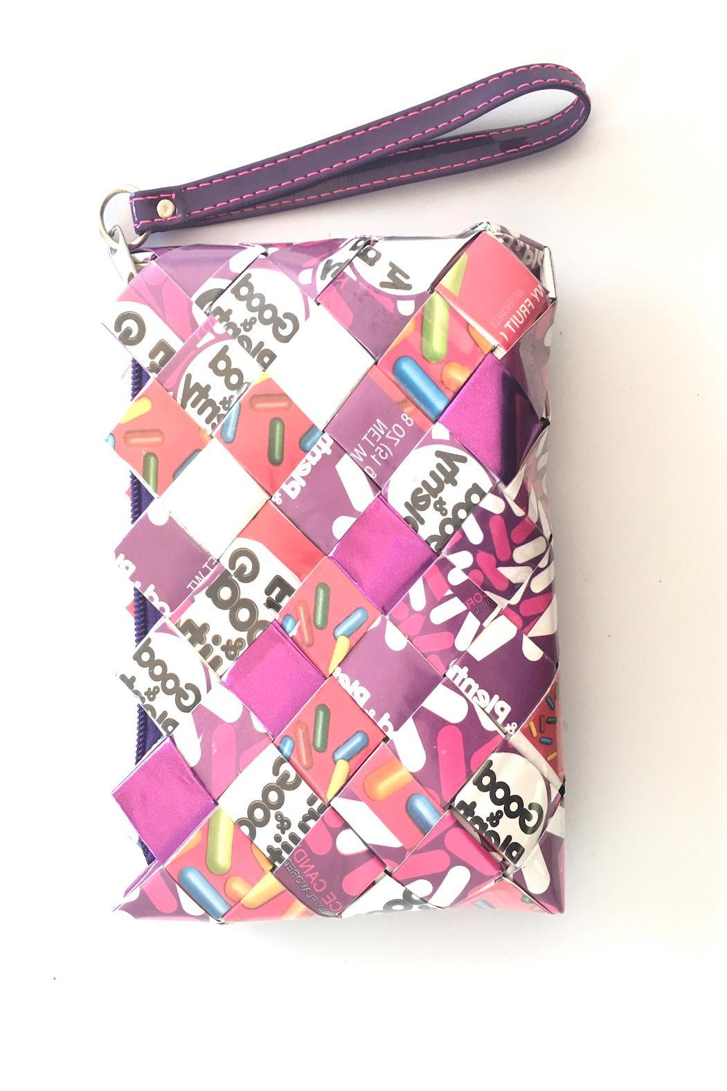 Cuccia Italia Candy Wrap Clutch - Front Cropped Image