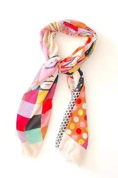 Shoptiques Product: Face Collage Scarf