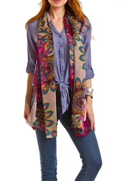 Cuccia Italia Summer Scarf Lightweight - Alternate List Image