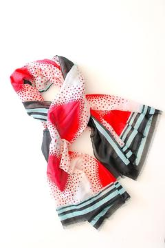 Shoptiques Product: Valentine's Day Scarf