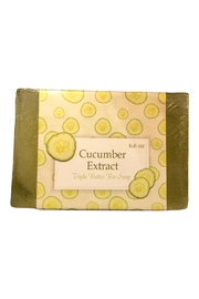 Soap and Water Newport Cucumber Extract Barsoap  - Front cropped