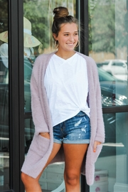 She + Sky Cuddle Up Cardigan - Product Mini Image