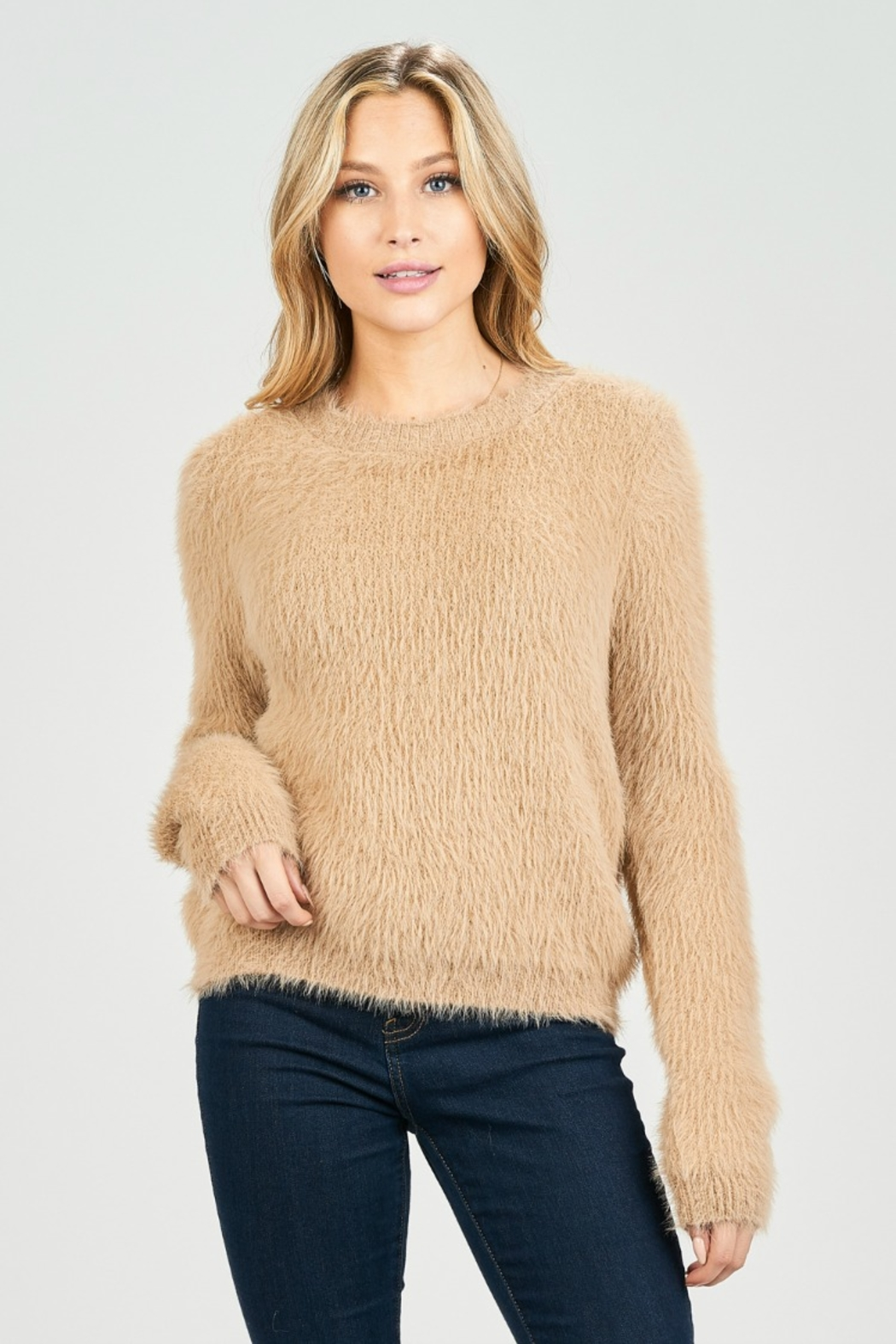 BLANC CUDDLES SWEATER - Front Full Image