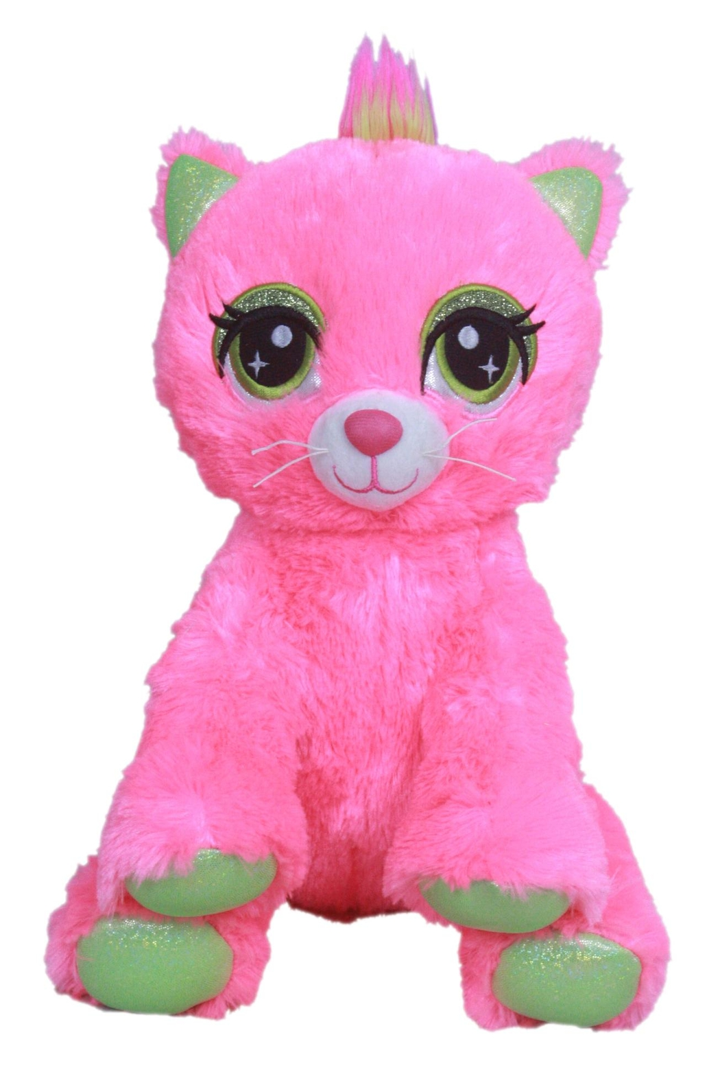 Cuddles and Friends Big-Eyed Pink Kitty - Main Image