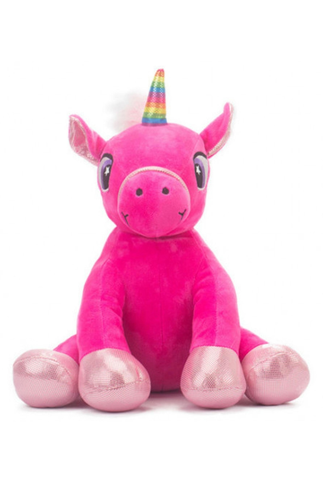 Cuddles and Friends Hot Pink Unicorn - Main Image