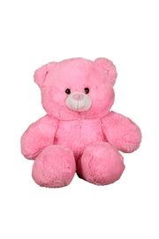 Cuddles and Friends Make-Your-Own Pink Bear Kit - Front cropped