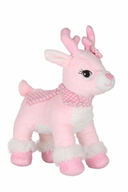 Cuddles and Friends Make-Your-Own Pink Reindeer - Front cropped