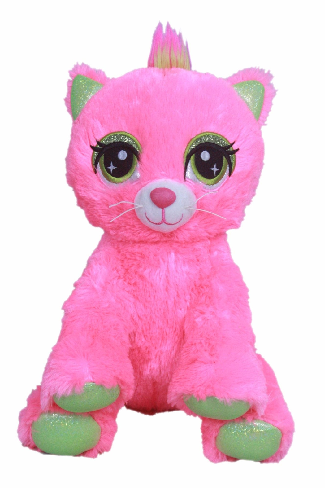 Cuddles and Friends Make-Your-Own Pink Kitty - Front Cropped Image