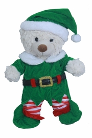 Cuddles and Friends Teddy Elf Costume - Front cropped