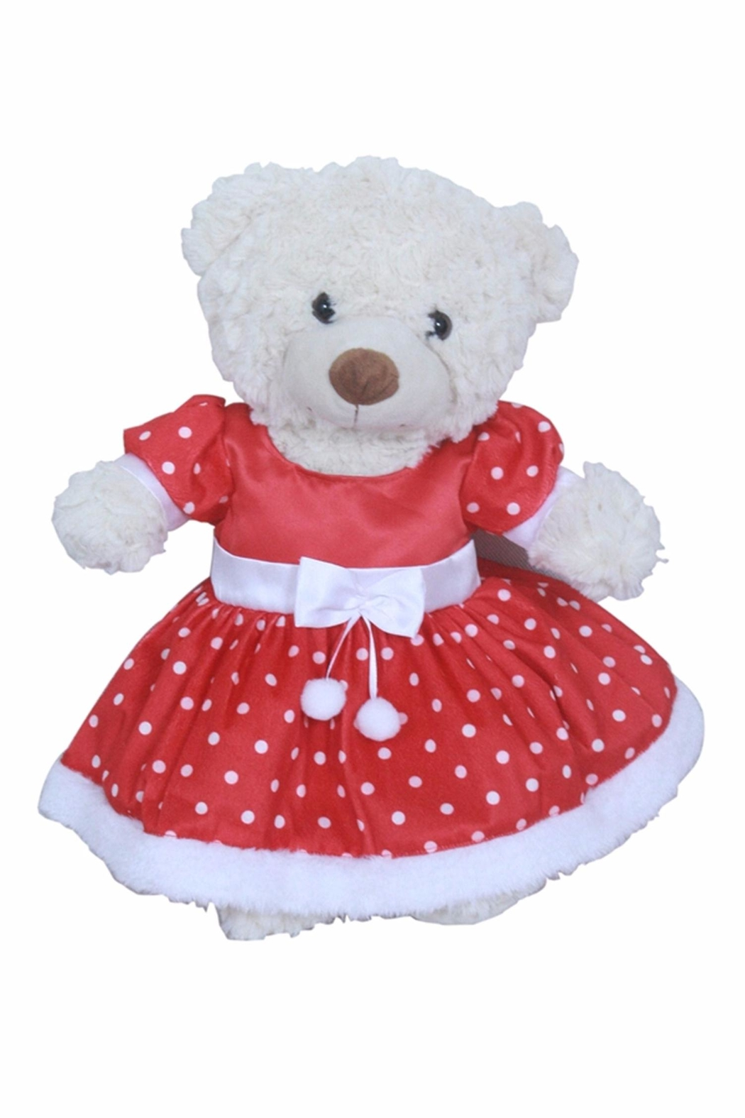 Cuddles and Friends Teddy  Holiday Dress - Main Image