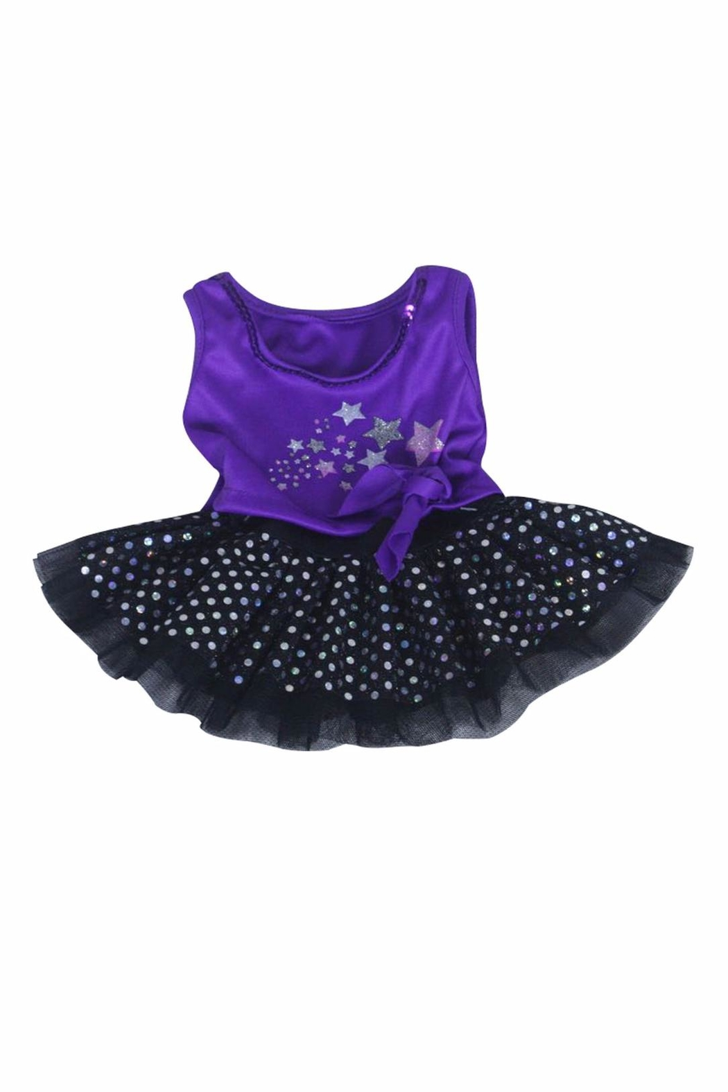 Cuddles and Friends Teddy Tutu Outfit - Front Full Image
