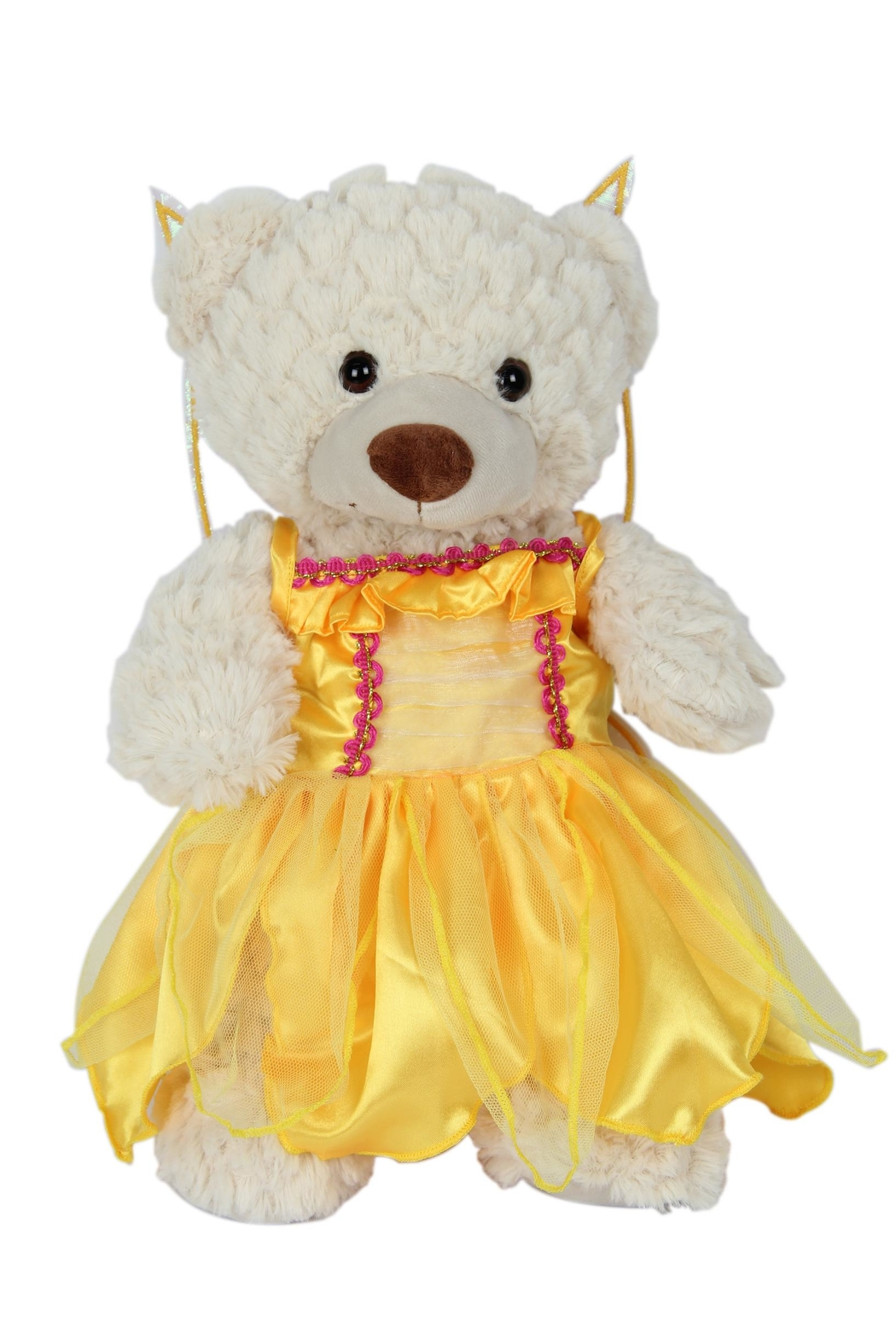 Cuddles and Friends Teddy Yellow Fairy - Main Image