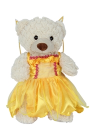 Cuddles and Friends Teddy Yellow Fairy - Front cropped