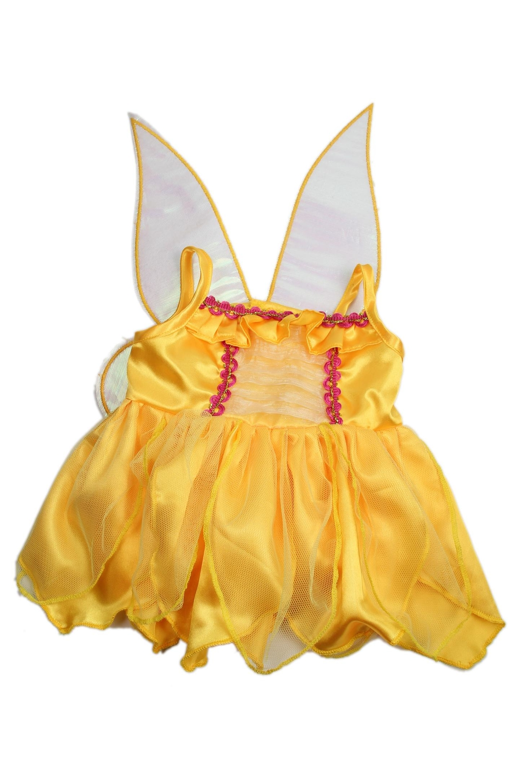 Cuddles and Friends Teddy Yellow Fairy - Front Full Image