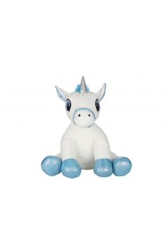 Cuddles and Friends White Glitter Unicorn - Product List Image