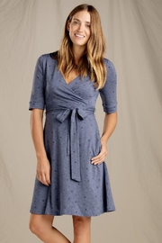 Toad & Co. Cue Wrap-Cafe Dress - Front cropped