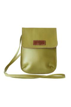 Shoptiques Product: Green Leather Crossbody
