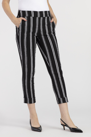 Tribal Cuffed Capri Pant - Front cropped