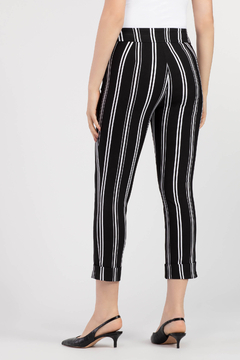 Tribal Cuffed Capri Pant - Alternate List Image