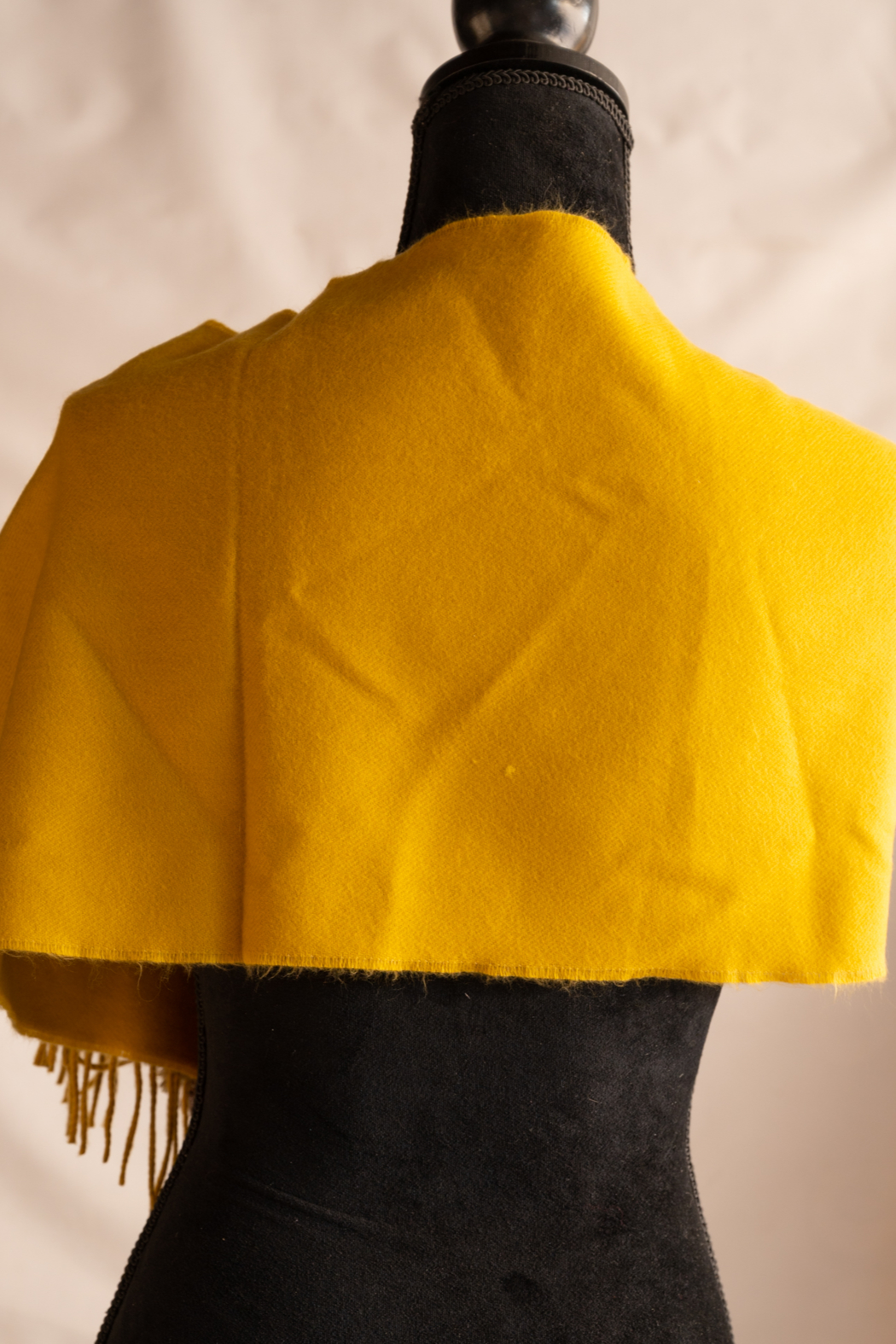 Handmade by CA artist Cuffed Cashmere - Side Cropped Image
