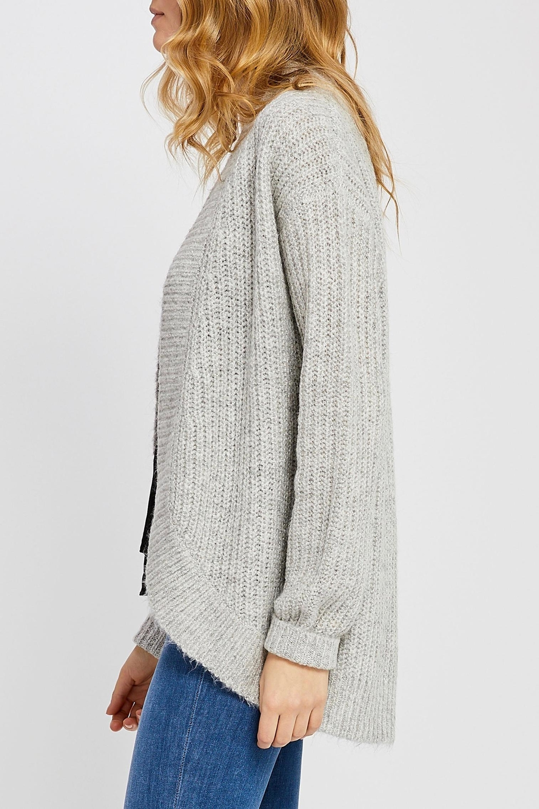 Gentle Fawn Cuffed Cocoon Cardigan - Front Full Image