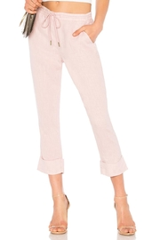 Michael Stars Cuffed Linen Trouser - Product Mini Image