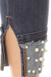 Salvage Cuffed Pearl Jeans - Front full body