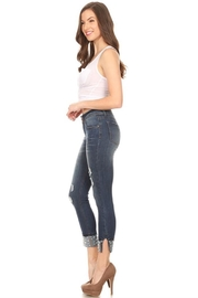 Salvage Cuffed Pearl Jeans - Product Mini Image