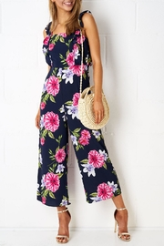frontrow Culotte Floral Jumpsuit - Product Mini Image