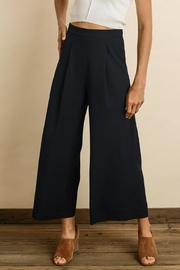 dress forum Culotte Pants, Navy - Product Mini Image