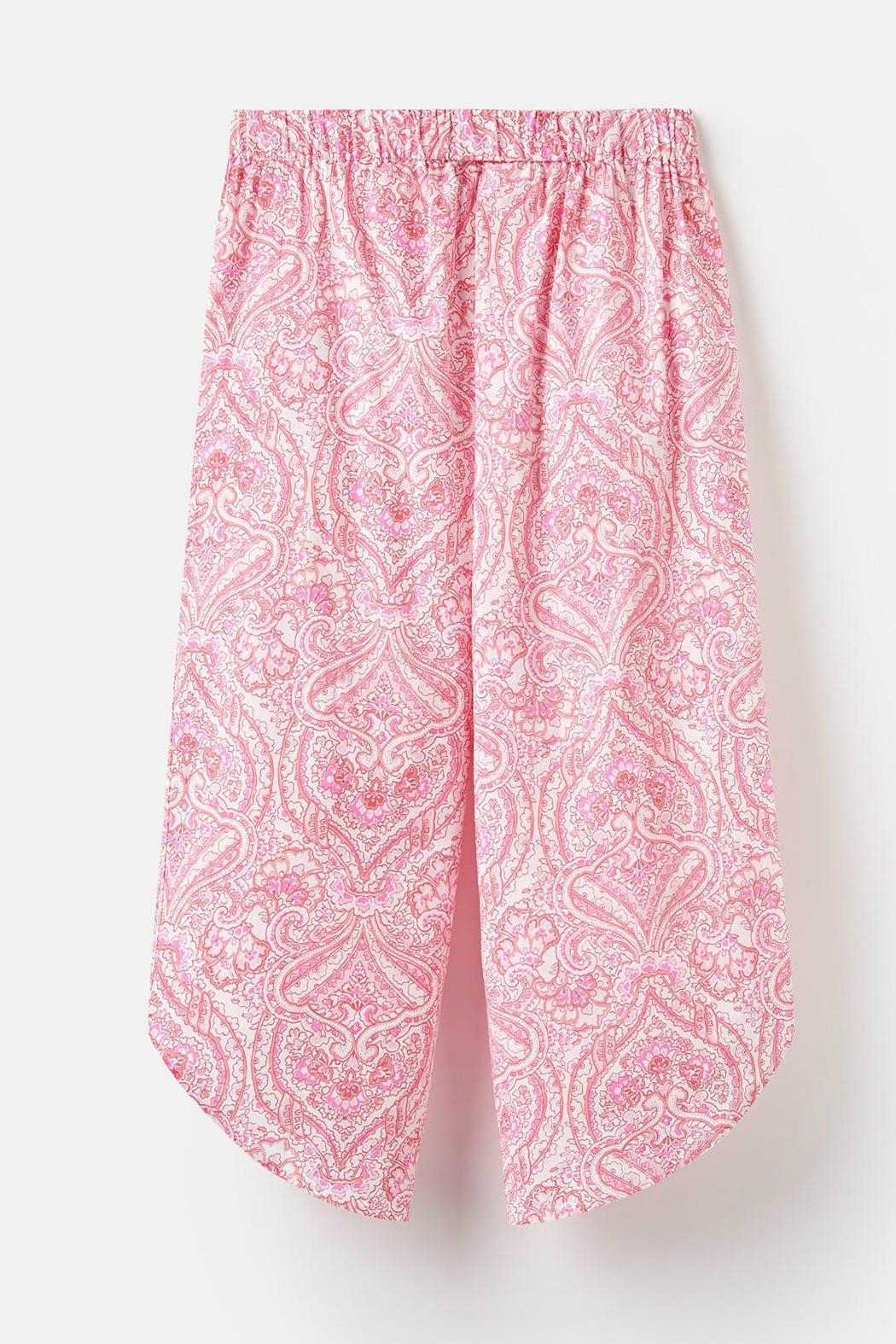 Joules Culotte Sleep Pants - Back Cropped Image