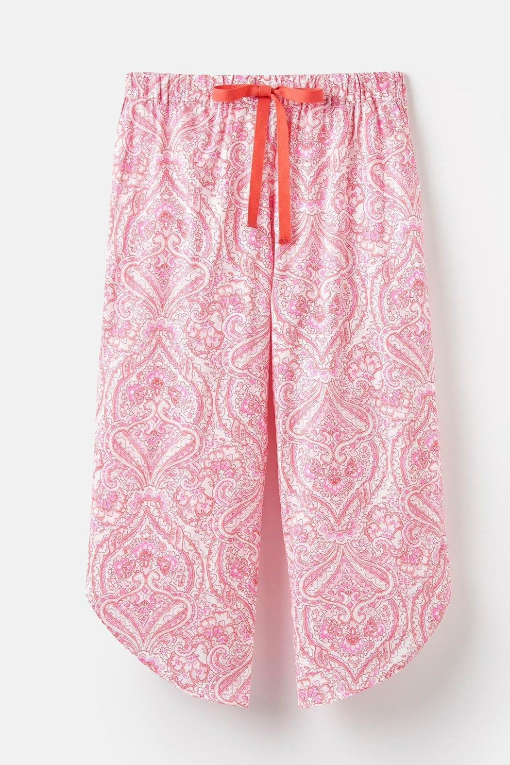 Joules Culotte Sleep Pants - Side Cropped Image