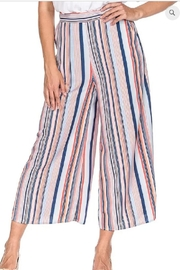 Joy Joy Culotte Striped Pants - Product Mini Image