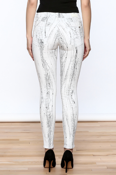 Cult of Individuality White Crackle Pants - Alternate List Image