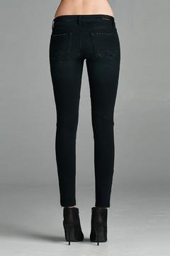 Shoptiques Product: Black Moto Jean