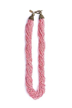 Shoptiques Product: Handmade Checkered Necklace