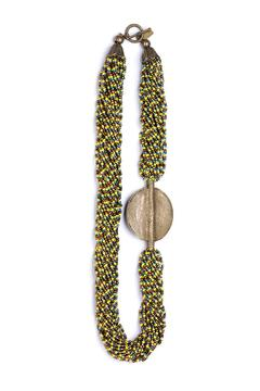 Shoptiques Product: Handmade Trichromatic Necklace