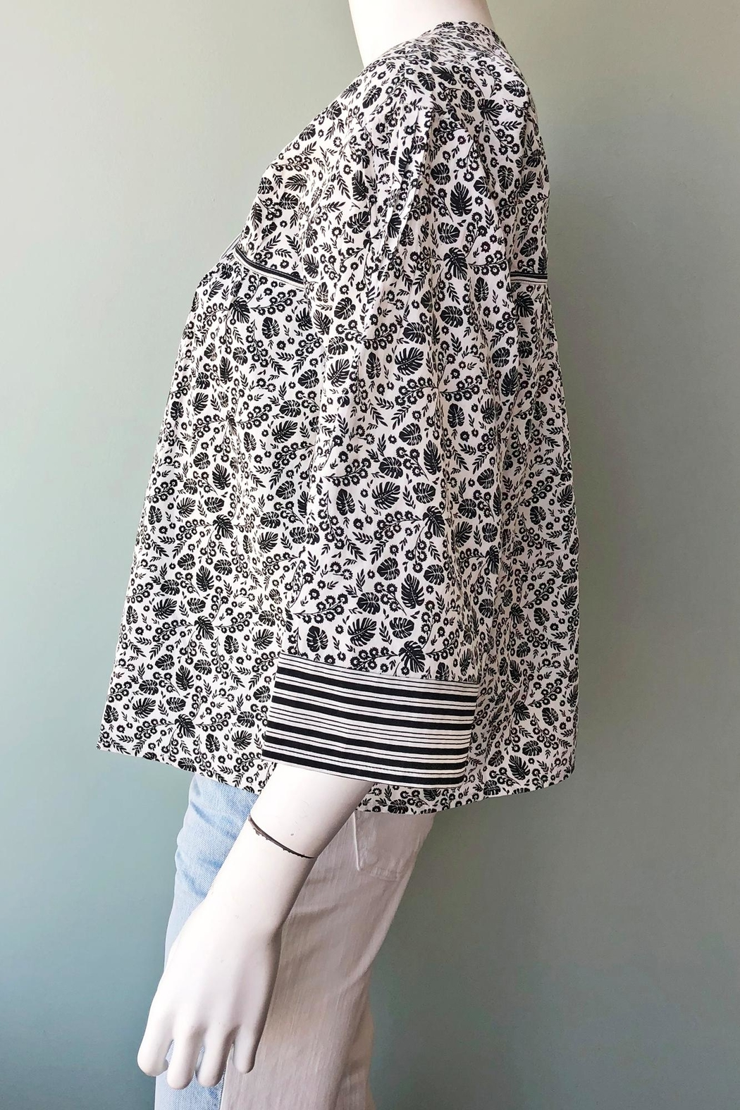 Joie Culveria Printed Blouse - Side Cropped Image
