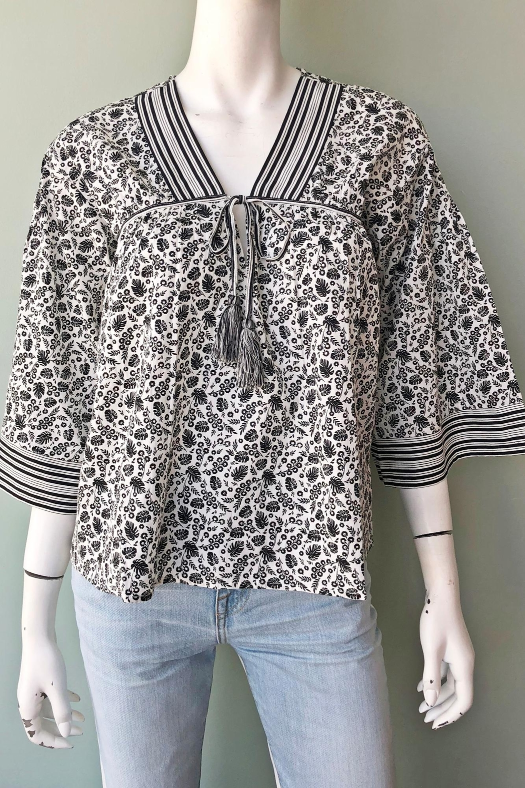 Joie Culveria Printed Blouse - Front Full Image