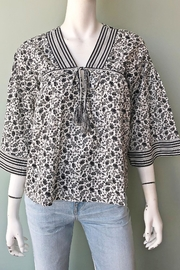 Joie Culveria Printed Blouse - Front full body