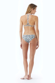 Citrine Cumberland Braided T-Back Top - Front cropped
