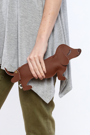 Shoptiques Product: Dachshund Coin Purse - Back cropped