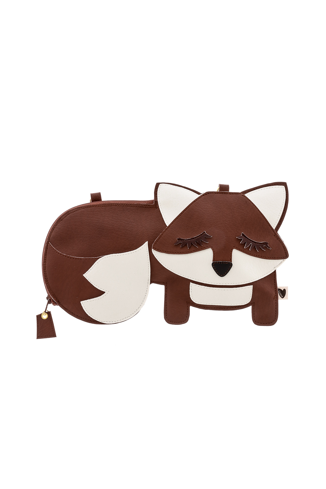 Cuore Brown Fox Purse - Front Cropped Image