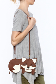 Cuore Brown Fox Purse - Back cropped